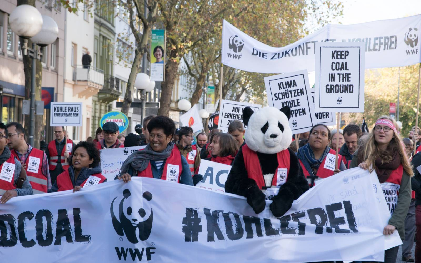 WWF at Climate March in Bonn at COP23 2017