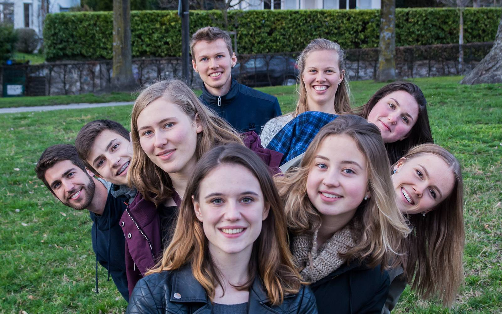 WWF Youth Gruppenbild j'ose
