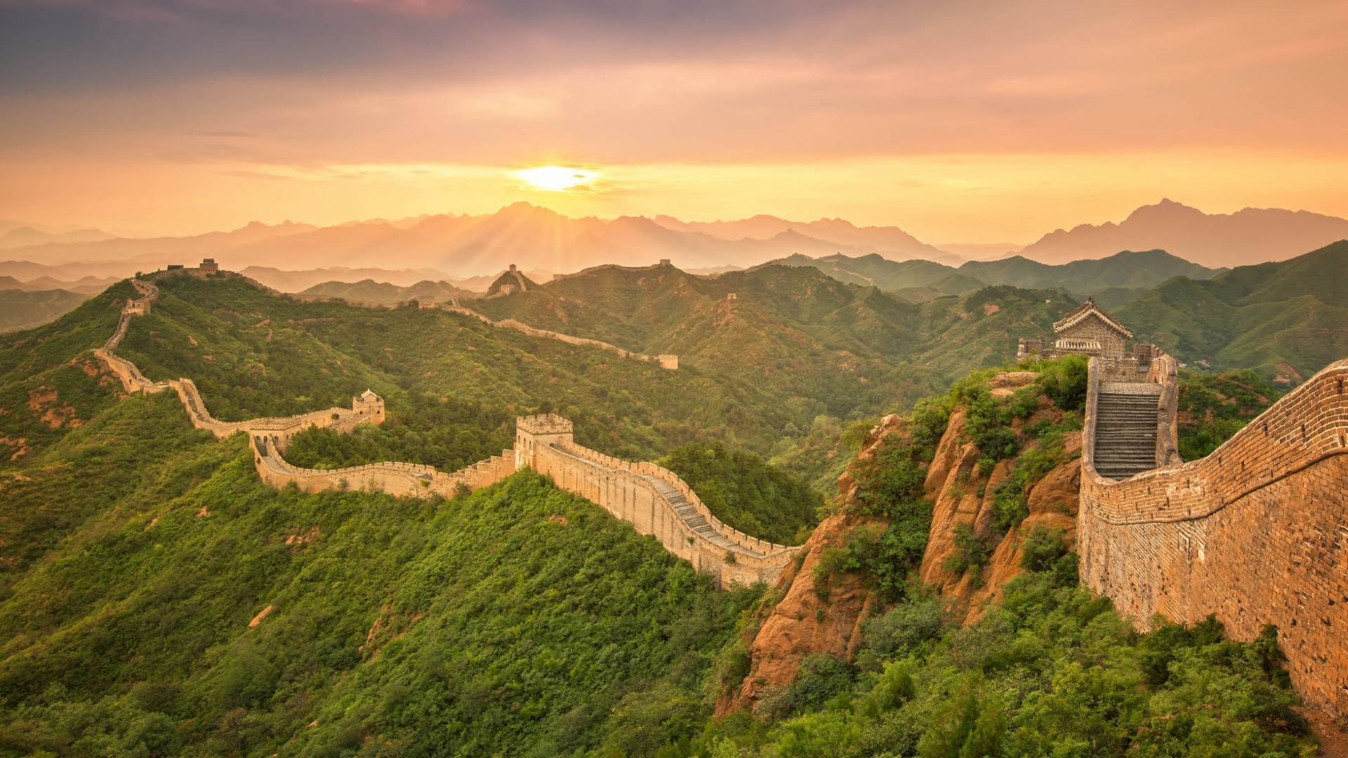 Die grosse Mauer in China